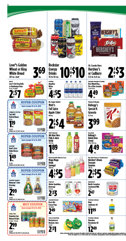 Image of page 4 of Weekly Ad