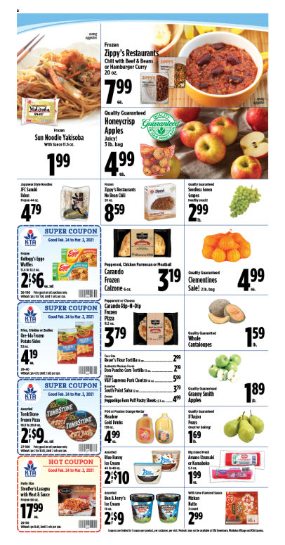 Image of page 2 of Weekly Ad
