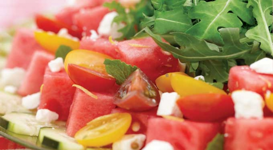 All American Watermelon Salad