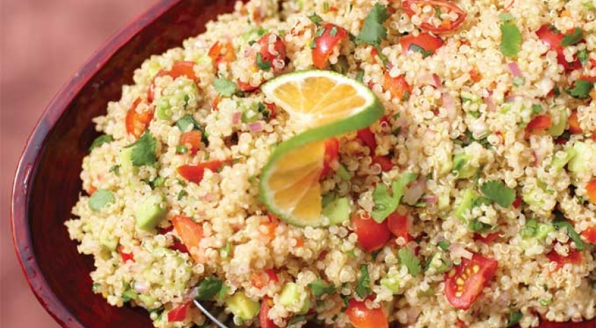 Healthy Earth Day Quinoa Salad