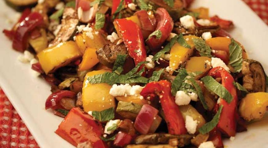 Mediterranean-Style Roasted Veggies