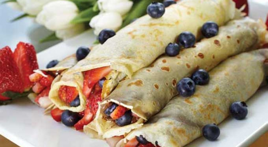 Mother's Day Crepes
