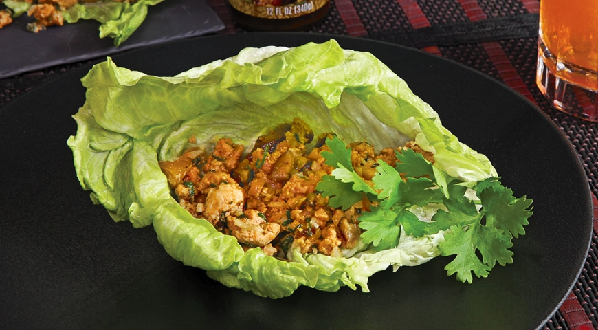 Lemongrass Pork Lettuce Cups