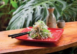 Image of Daikon Salad with Sesame Dressing