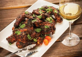 Firecracker Chicken Wings