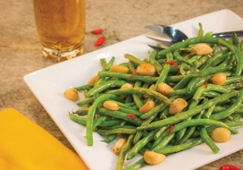 20 Roasted Garlic Green Beans
