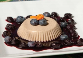 Kona Coffee Panna Cotta
