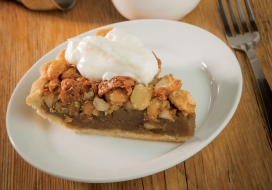 Mac Nut Rum Pie