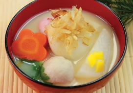 New Year's Ozoni Soup