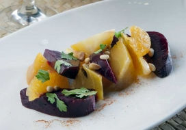 Salt Roasted Beet Salad
