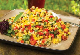 Image of Summer Grilled Corn Salad