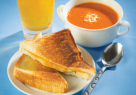 Best Tomato Soup & Grilled Cheese Sandwich Ever