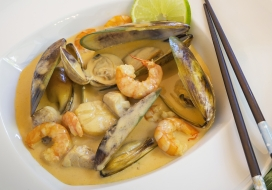 Image of Seafood Coconut Thai Curry