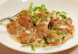 Image of Braised Chicken with Miso-Adobo Butter