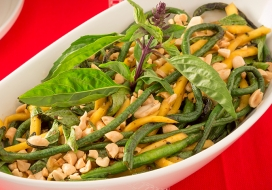 Grilled Chinese Long Beans