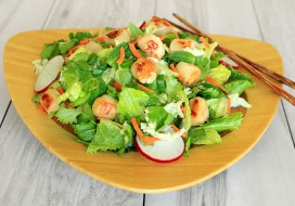 Asian Scallop Salad