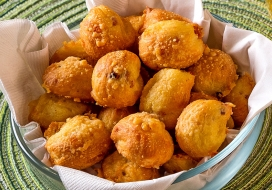 Ham & Cheese Gougeres