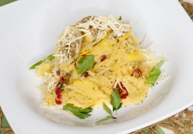 Image of Spaghetti Squash with Sundried Tomato Butter