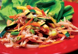 Image of Crab & Vegetable Kimchee Salad