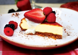 Image of Hawaiian Style Cheesecake