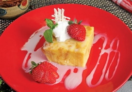 Image of White Chocolate Bread Pudding
