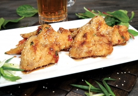 Image of Spicy Chili Pepper Wings