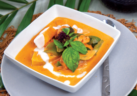 Image of Chicken & 'Ulu Red Curry
