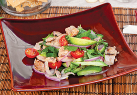 Image of Asian Style Grilled Chicken Salad