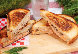 Image of Salmon & Caper Melt Panini